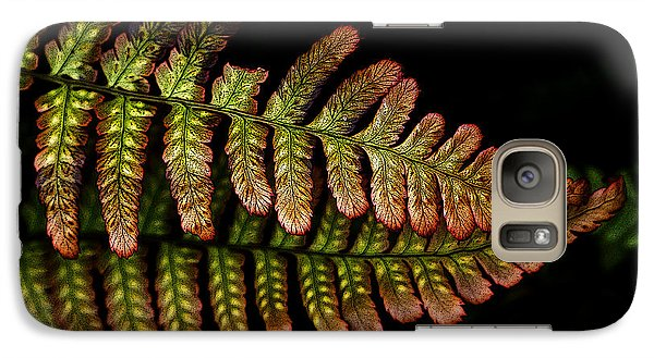 Galaxy Case featuring the photograph Fern by Sonya Lang