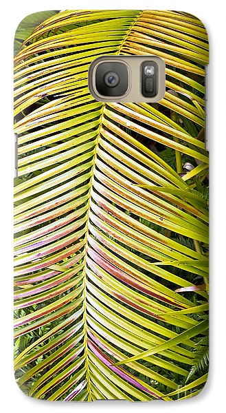 Galaxy Case featuring the photograph Ferns by Kate Brown