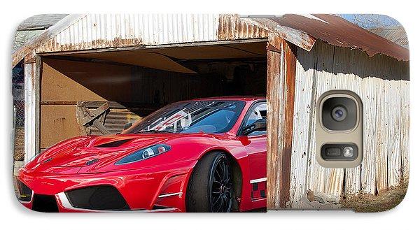 Galaxy Case featuring the photograph Ferrari by Gunter Nezhoda