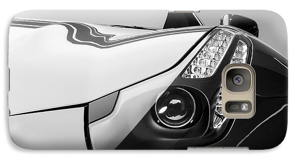 Galaxy Case featuring the photograph Ferrari Headlight by Matt Malloy