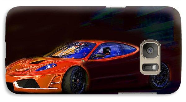 Galaxy Case featuring the photograph Ferrari Shadow by Gunter Nezhoda