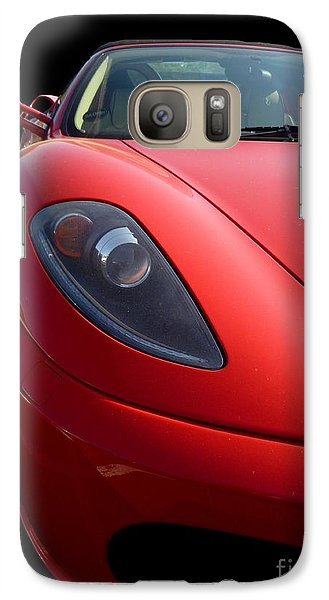 Galaxy Case featuring the photograph Ferrari by Vicki Spindler