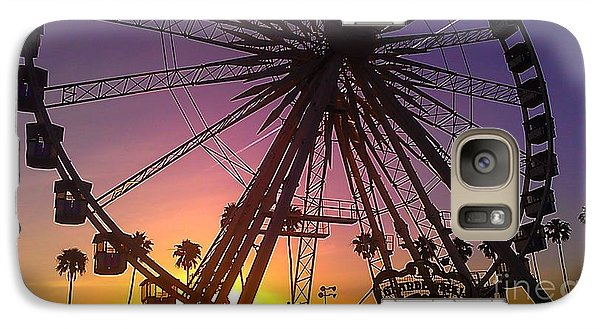 Galaxy Case featuring the photograph Ferris Wheel by Chris Tarpening