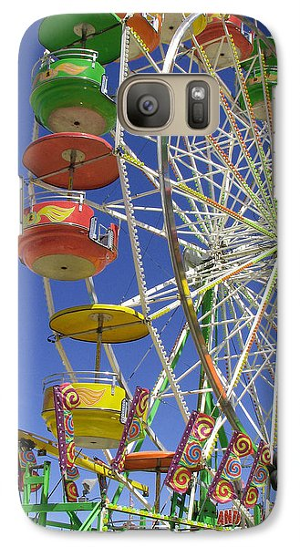 Galaxy Case featuring the photograph Ferris Wheel by Marcia Socolik