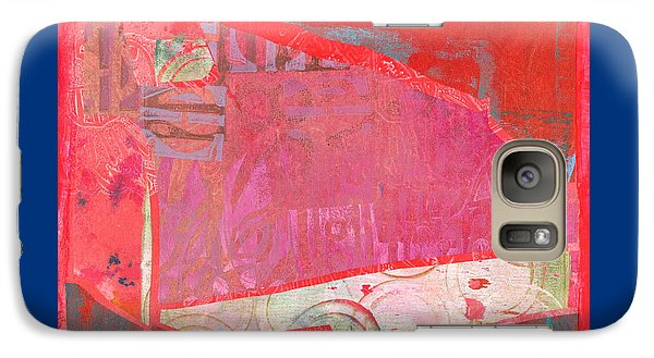 Galaxy Case featuring the mixed media Festival by Catherine Redmayne