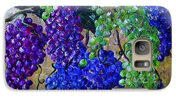 Galaxy Case featuring the painting Festival Of Grapes by Eloise Schneider