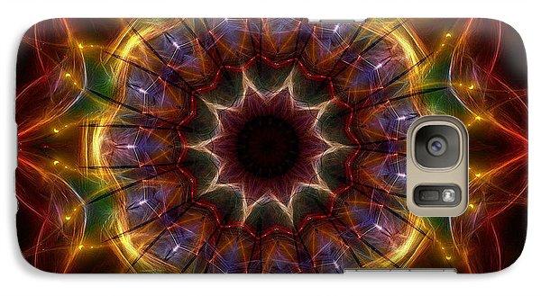 Galaxy Case featuring the digital art Festive Lights by Mario Carini