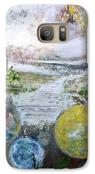 Galaxy Case featuring the painting Festive Mood by Evelina Popilian
