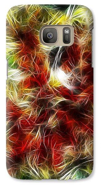 Galaxy Case featuring the digital art Feux Follets by Selke Boris
