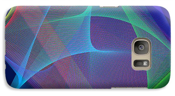 Galaxy Case featuring the digital art Fever by Karo Evans