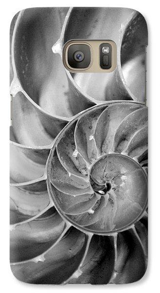 Galaxy Case featuring the photograph Fibonacci by Kjirsten Collier