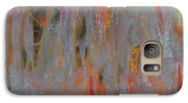Galaxy Case featuring the painting Fibres Of My Being by Mini Arora