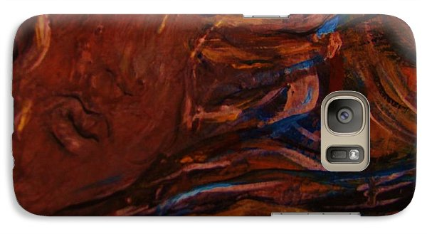 Galaxy Case featuring the painting Fidelas Story by Dawn Fisher