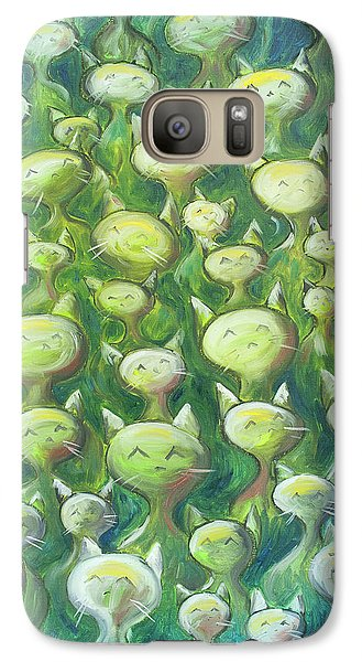 Field Of Cats Galaxy S7 Case