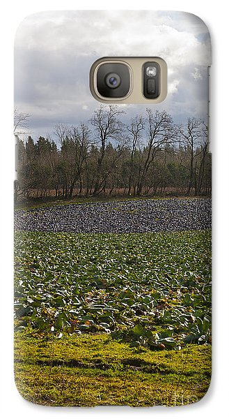 Galaxy Case featuring the photograph Field Of Color 2 by Belinda Greb