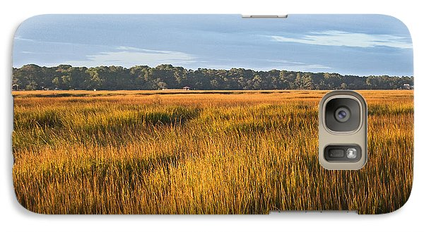 Galaxy Case featuring the photograph Field Of Gold Lan 358 by G L Sarti