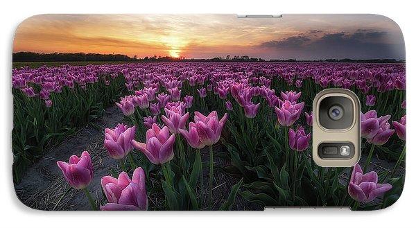 Tulip Galaxy S7 Case - Field Of Tulips by Amada Terradillos S.