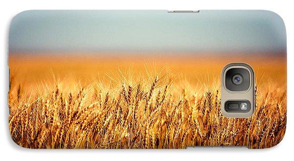 Rural Scenes Galaxy S7 Case - Field Of Wheat by Todd Klassy