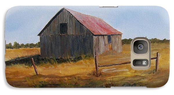 Galaxy Case featuring the painting Fields Of Gold by Jackie Mueller-Jones