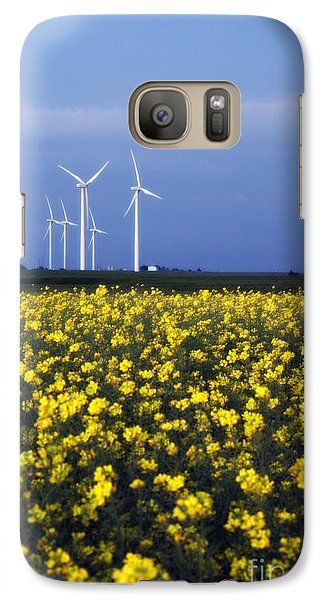 Galaxy Case featuring the photograph Fields Of Gold by Jim McCain