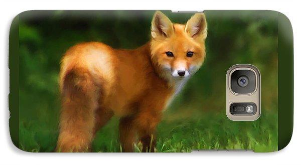 Fiery Fox Galaxy S7 Case