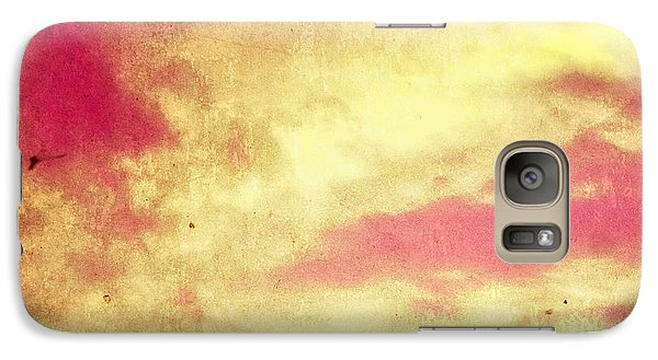 Galaxy Case featuring the photograph Fiery Sky by Andy Heavens