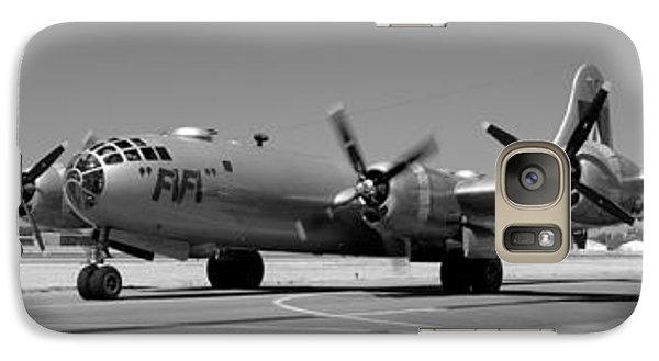 Fifi.  Enola Gay's B29 Superfortress Sister Visits Modesto Kmod. Galaxy S7 Case