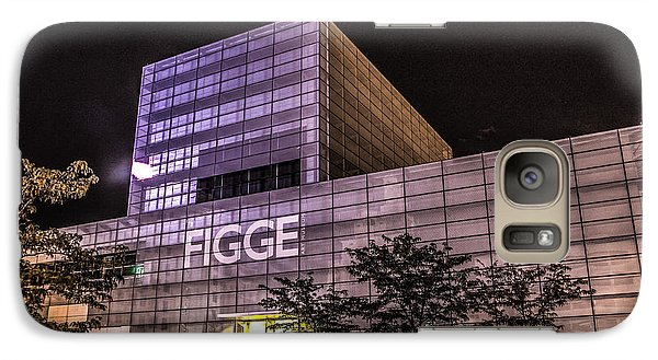 Galaxy Case featuring the photograph Figge Art Museum by Ray Congrove
