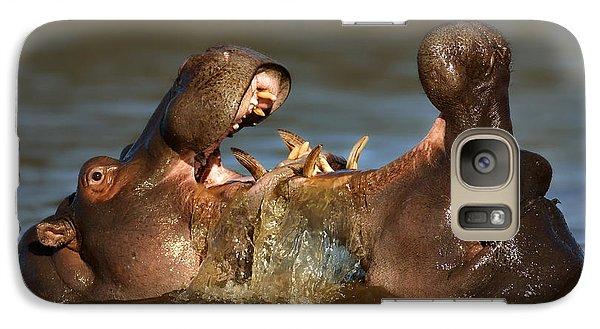 Fighting Hippo's Galaxy S7 Case