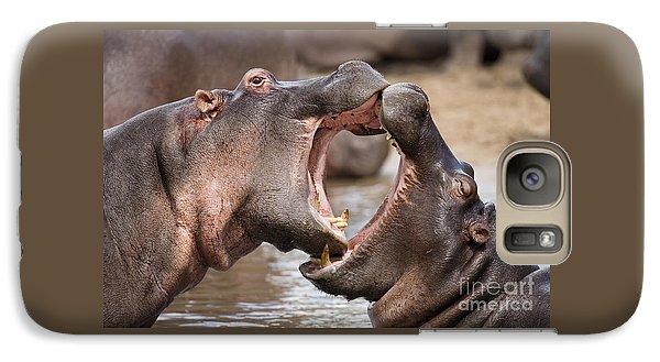 Fighting Hippos Galaxy S7 Case