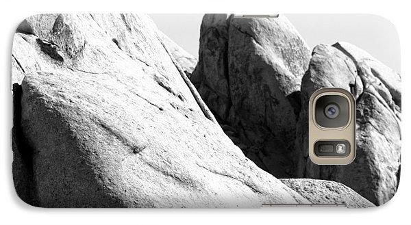 Galaxy Case featuring the photograph Figures Within Rock by Carolina Liechtenstein