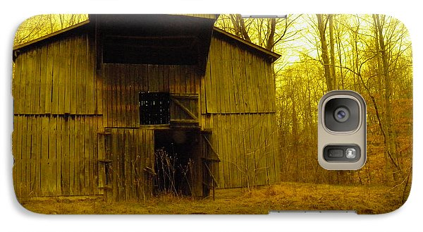 Galaxy Case featuring the photograph Filtered Barn by Nick Kirby