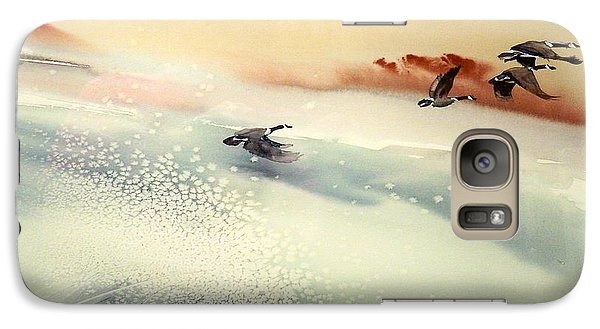 Galaxy Case featuring the painting Fin De Siecle by Ed  Heaton