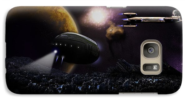 Galaxy Case featuring the digital art Final Option by Jeremy Martinson