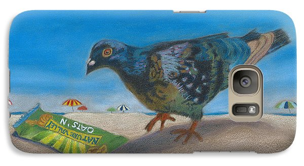 Galaxy Case featuring the painting Finders Keepers by Arlene Crafton