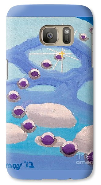 Galaxy S7 Case featuring the painting Finding Personal Peace by Rod Ismay
