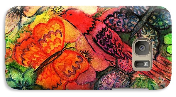 Galaxy Case featuring the painting Finding Sanctuary by Hazel Holland