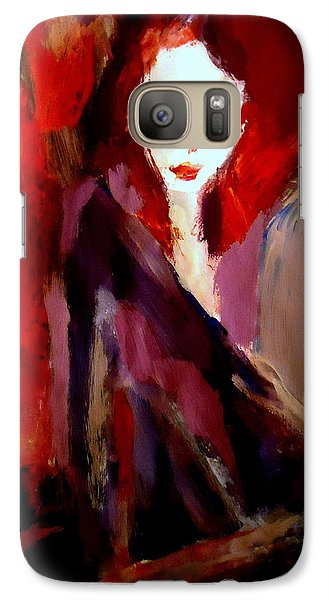 Galaxy Case featuring the painting Finesse by Helena Wierzbicki