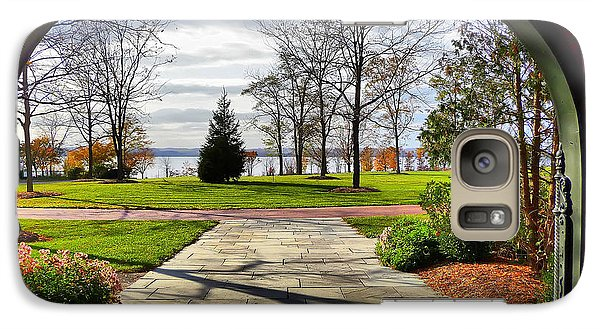 Galaxy Case featuring the photograph Finger Lakes View From Mackenzie Childs  by Mitchell R Grosky