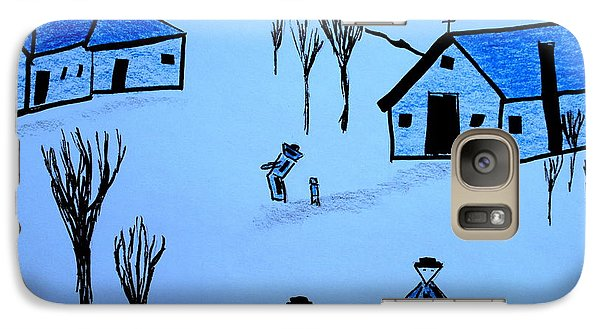 Galaxy Case featuring the drawing Finland by Bill OConnor