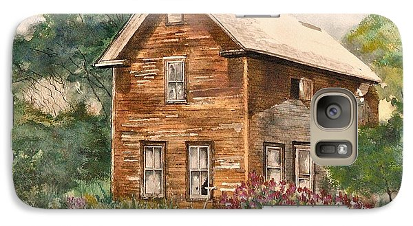 Galaxy Case featuring the painting Finlayson Old House by Susan Crossman Buscho