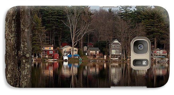 Galaxy Case featuring the photograph Finn Village On Demond Pond - Rutland Massachusetts by John Black