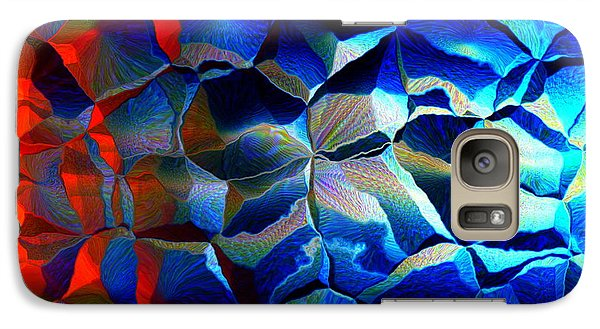 Galaxy Case featuring the digital art Fire And Ice by Andreas Thust