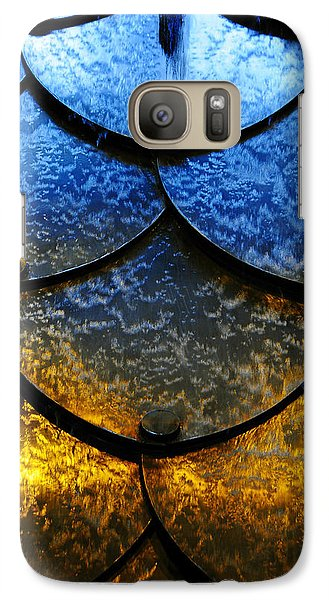 Galaxy Case featuring the photograph Fire And Ice by Skip Hunt