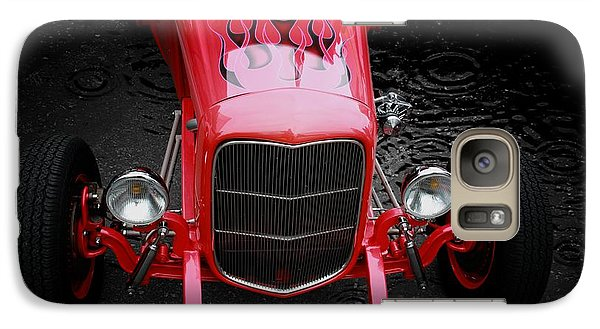 Classic Cars Galaxy Case featuring the photograph Fire And Water by Aaron Berg
