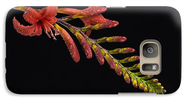 Galaxy Case featuring the photograph Fire And Water by Trevor Chriss