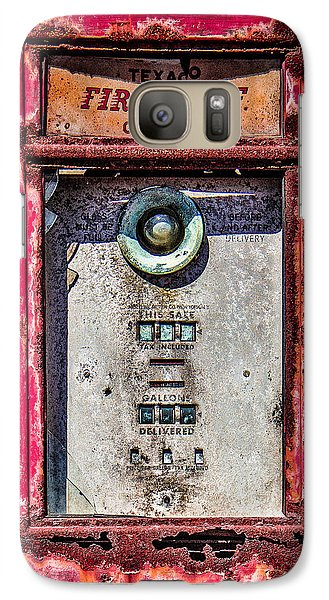 Galaxy Case featuring the photograph Fire Chief Gas by Steven Bateson