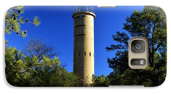 Galaxy Case featuring the photograph Fct7 Fire Control Tower #7 - Observation Tower by Bill Swartwout