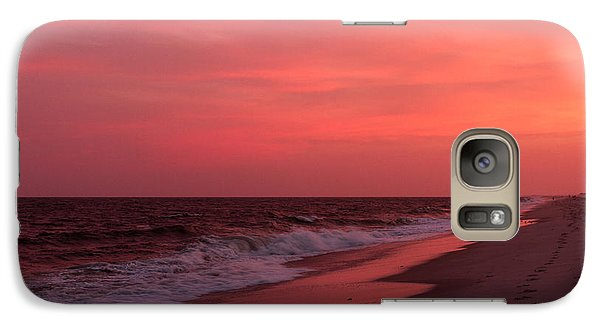 Galaxy Case featuring the photograph Fire In The Sky by Haren Images- Kriss Haren