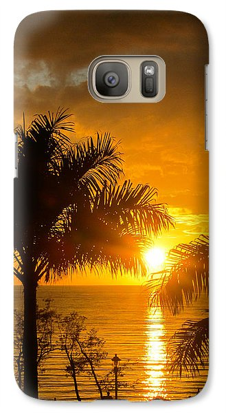 Galaxy Case featuring the photograph Fire In The Sky by Jon Emery